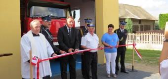 Otwarcie strażnicy po modernizacji w Boroszowie