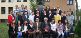 Pierwszoklasiści z Zespołu Szkół Zawodowych w Oleśnie