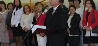 Rozpoczęcie roku szkolnego 2013/2014 w Zespole Szkół w Oleśnie