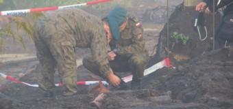 Bomba lotnicza w Oleśnie