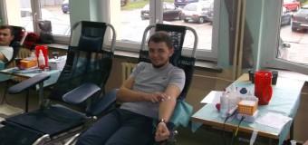 Oddali 23 litry krwi