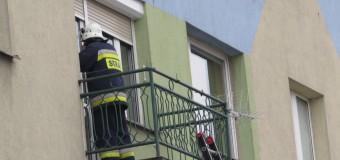 Pożar przy ulicy Armii Krajowej w Oleśnie