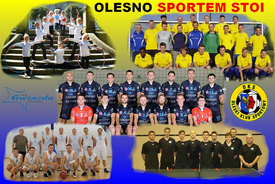 Olesno sportem stoi