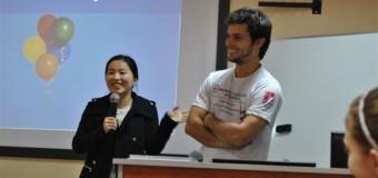 Chinka i Brazylijczyk zauroczeni Olesnem
