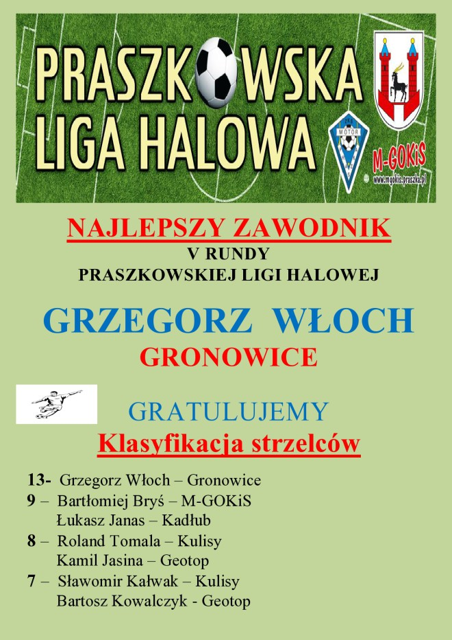 NAJLEPSZY STRZELEC , ZAWODNIK IV KOLEJKI _Wstawić-page0001
