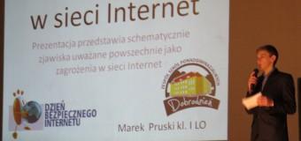 Dzień Bezpiecznego Internetu w Dobrodzieniu