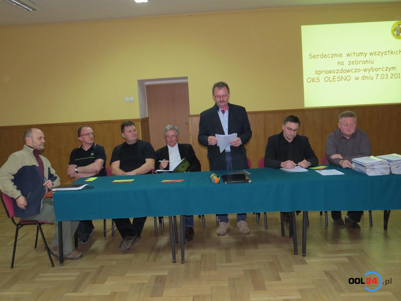 Zbigniew Włodarski nadal prezesem OKS-u