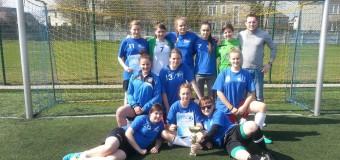 Piłkarska hegemonia dziewcząt z I LO Praszka