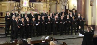 Męskie głosy zabrzmiały w kościele
