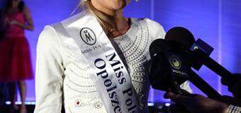 Klaudia Spodzieja Miss Polski Opolszczyzny 2014!