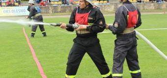 Wojewódzkie Zawody Sportowo-Pożarnicze w Oleśnie