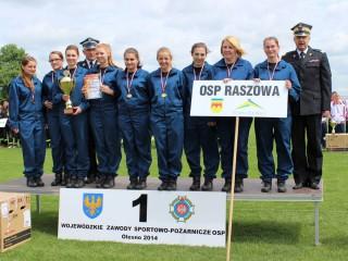 Wojwódzkie Zawody Sportowo - Pożarnicze, Olesno 2014 486