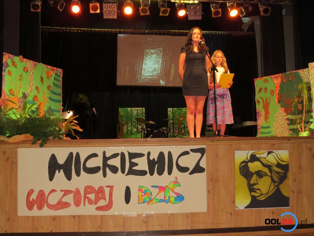 Adam Mickiewicz odżył w Oleśnie