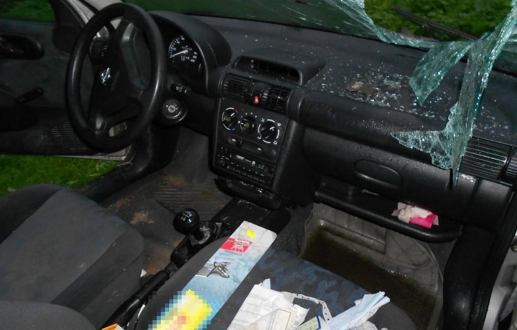 Włamał się do auta, a pieniądze wydał na lody