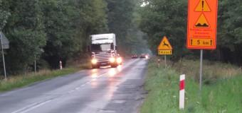 Trasa Olesno-Boroszów zamknięta z powodu remontu