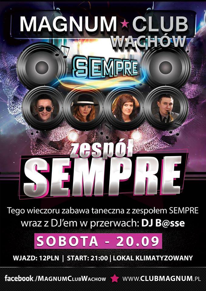 Magnum Club Wachów – Sobota – 20.09.2014