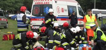 Wypadek masowy w Oleśnie (ćwiczenia)