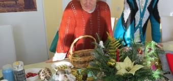 Seniorzy upiększali sobie święta