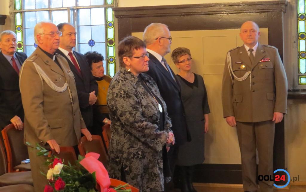 Uroczyste wręczenie aktu mianowania na wyższy stopień wojskowy Tadeuszowi Lipińskiemu