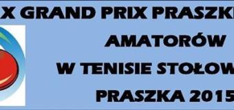 X Grand Prix Praszki – klasyfikacja końcowa