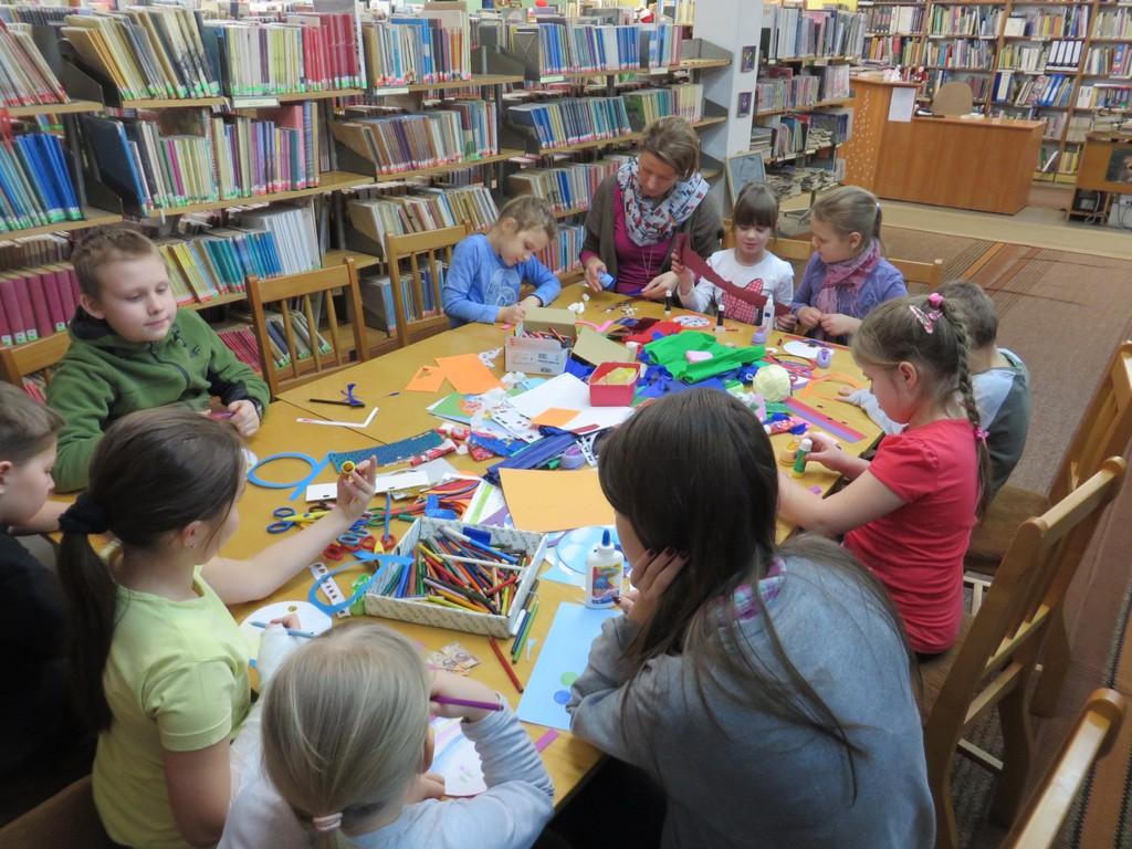 Bajkowe ferie w Oleskiej Bibliotece Piblicznej