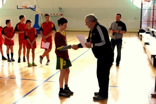 koszykówka chłopców zawody powiatowe 12 lutego 20115 r. 161