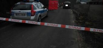Śmiertelny wypadek z udziałem motocyklisty w Słowikowie