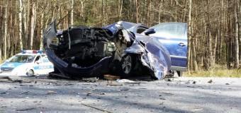 Dwa wypadki na DW 901