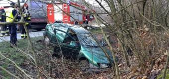 Wypadek na trasie Olesno-Dobrodzień