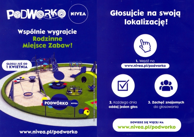 """Zagłosuj na Podwórko """"NIVEA"""""""