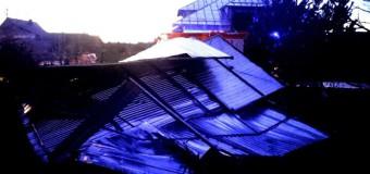 Strażacy usuwali skutki silnego wiatru