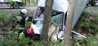 Groźny wypadek na trasie Nowy Wachów – Osiecko