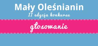 Mały Oleśnianin II – głosowanie