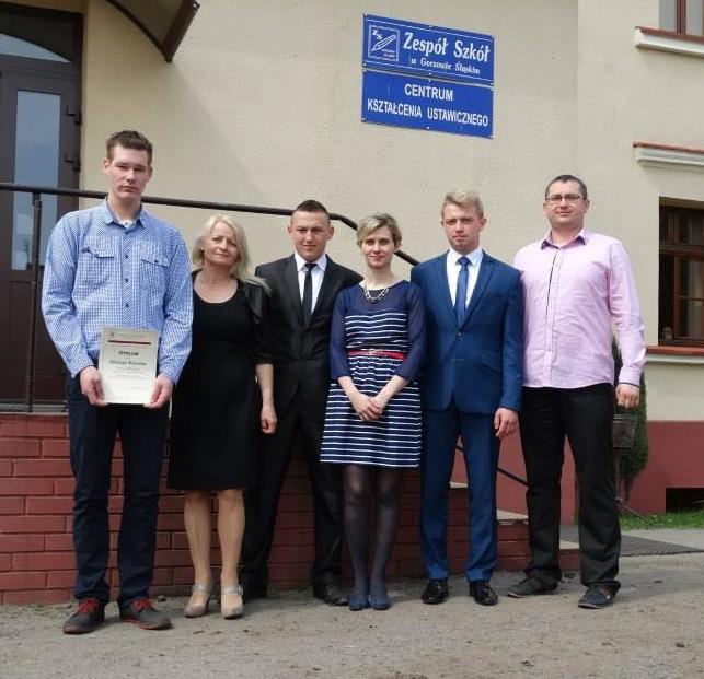 Sukces ucznia ZS w Gorzowie Śląskim