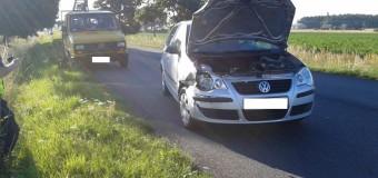 Wypadek z udziałem czterech pojazdów