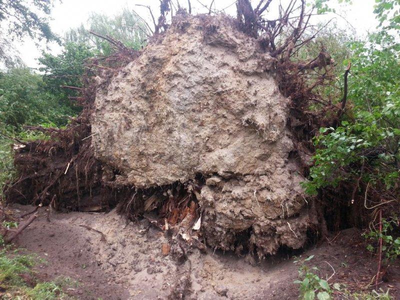 Gwałtowne burze ponownie gnębiły powiat oleski
