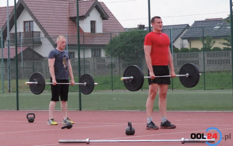Pokaz treningu crossfit w Oleśnie