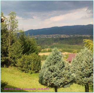 widok z Jaworzynki