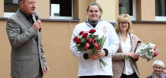 """Mistrzyni i Festiwal Pchnięcia Kulą w oleskiej """"Trójce"""""""