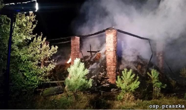 Pożar stodoły – Faustianka