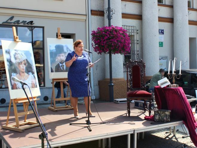 Narodowe Czytanie  - Olesno - 2015 062