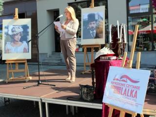 Narodowe Czytanie  - Olesno - 2015 071
