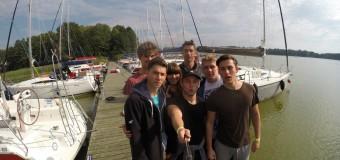 Uczniowie Klubu Żeglarskiego przy ZS w Oleśnie na regatach Northman-Cup