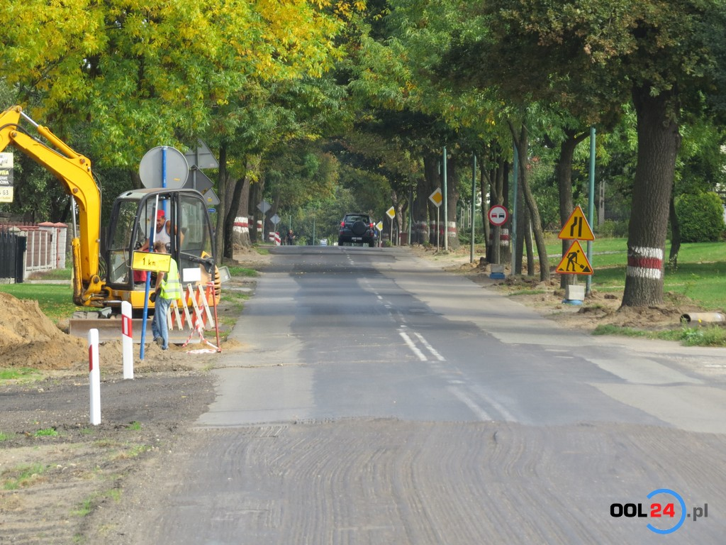Droga z Olesna do Opola zamknięta do końca roku