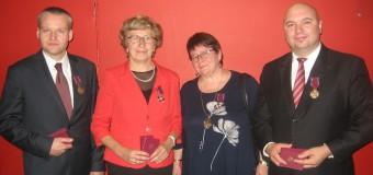 Krzyże Zasługi dla mieszkańców gminy Olesno