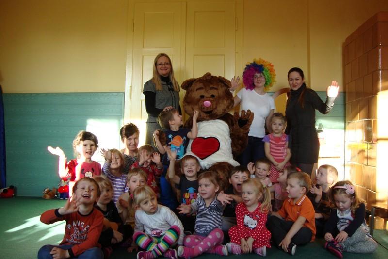 Misiowy dzień w Publicznym Przedszkolu w Wachowie