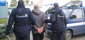Policjanci zatrzymali poszukiwanego listem gończym