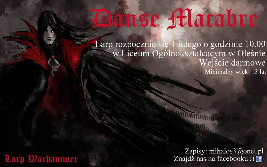 Dance Macabre, czyli LARP w Oleśnie