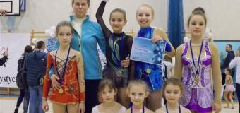 Oleskie gimnastyczki na zawodach w Warszawie