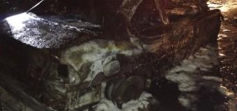 W Gorzowie Śląskim spłonął samochód